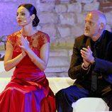 Ana Álvarez y Jordi Rebellón en los Premios Ceres 2012