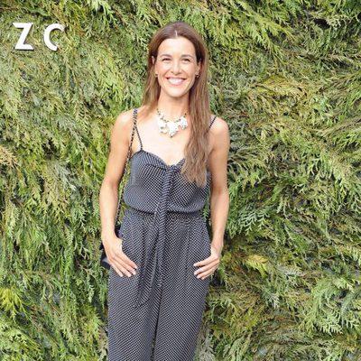 Raquel Sánchez-Silva en el desfile de DELPOZO en la Fashion Week Madrid