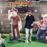 Santiago Segura en el estreno de 'Las aventuras de Tadeo Jones'