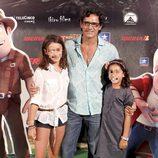 Jesús Cabanas en el estreno de 'Las aventuras de Tadeo Jones'