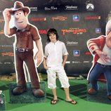 Daniel Avilés en el estreno de 'Las aventuras de Tadeo Jones'