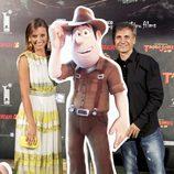 Michelle Jenner y José Mota en el estreno de 'Las aventuras de Tadeo Jones'