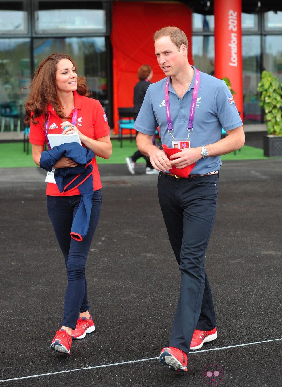 Los Duques de Cambridge en los Juegos Paralímpicos de Londres 2012