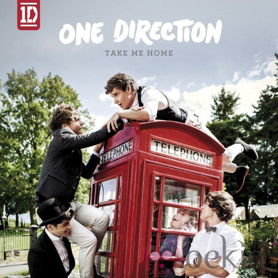 Portada oficial de 'Take Me Home', el nuevo disco de One Direction