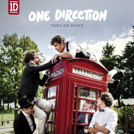 Portada oficial de 'Take Me Home', el nuevo disco de One Direction