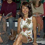 Cristina Higueras en la presentación de la colección de Roberto Verino