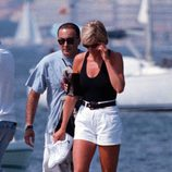 Lady Di y Dodi Al-Fayed