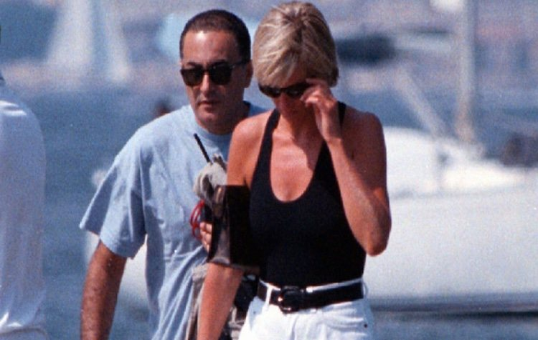 Lady Di y Dodi Al-Fayed