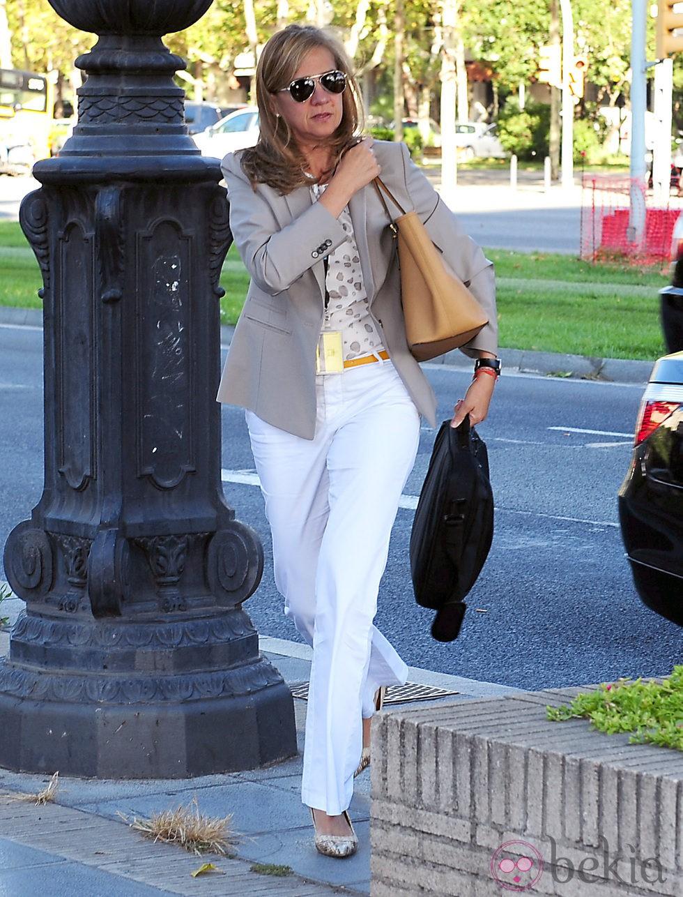 La Infanta Cristina va a trabajar a La Caixa en Barcelona