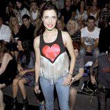 Pilar Rubio en el front row de Carlos Díez y María Escoté en la Fashion Week Madrid