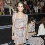 Silvia Alonso en el front row de Sita Mur en la Fashion Week Madrid