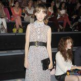 Leticia Dolera en el front row de Sita Mur en la Fashion Week Madrid