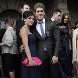 Rubén Poveda en la boda de Toño Sanchís