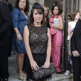 Tamara García en la boda de Toño Sanchís