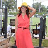 Fabiola Martínez en el Torneo Internacional de Polo de Sotogrande