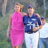 Víctor Vargas y Beatriz Hernández en el Torneo Internacional de Polo de Sotogrande