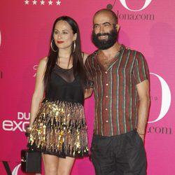 Carlos Díez y María Escoté en la fiesta Yo Dona de la Fashion Week Madrid