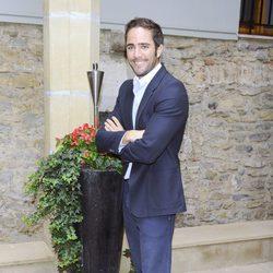 Roberto Leal en la presentación de 'Te lo mereces' en el FesTVal de Vitoria 2012