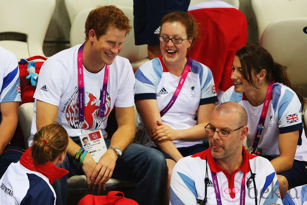 El Príncipe Harry en los Juegos Paralímpicos de Londres 2012