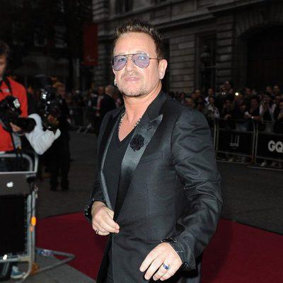 Bono en los Premios GQ Hombres del Año 2012 en Londres