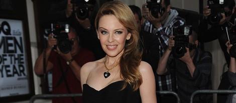Kylie Minogue en los Premios GQ Hombres del Año 2012 en Londres