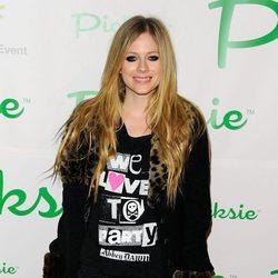 Avril Lavigne en el Picksie 2.0 en el 2011