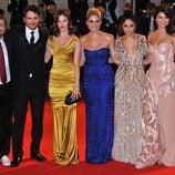 El reparto de 'Spring Breakers' en su estreno en la Mostra de Venecia 2012