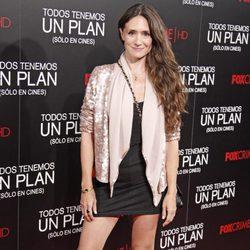 María Botto en el estreno de 'Todos tenemos un plan'