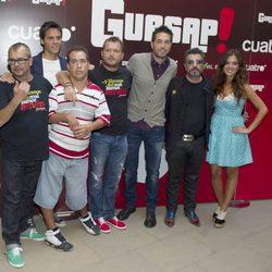 El Langui, Dani Martínez, Agustín Jiménez y Marta Márquez presentan 'Guasap!' en el FesTVal de Vitoria 2012
