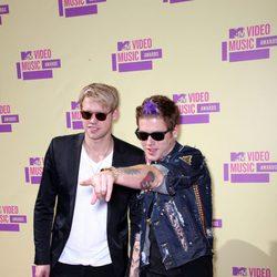 Chord Overstreet y Nash Overstreet en los MTV Video Music Awards 2012