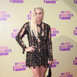 Kesha en los MTV Video Music Awards 2012