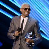 Chris Brown en la gala de los MTV Video Music Awards 2012