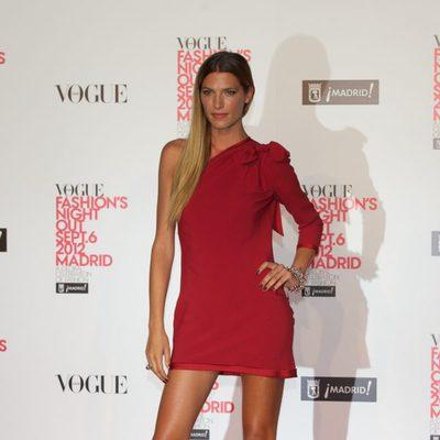 Laura Sánchez en la Madrid Fashion's Night Out 2012