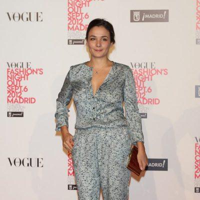 Silvia Alonso en la Madrid Fashion's Night Out 2012