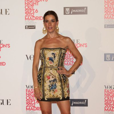 Raquel Sánchez Silva en la Madrid Fashion's Night Out 2012