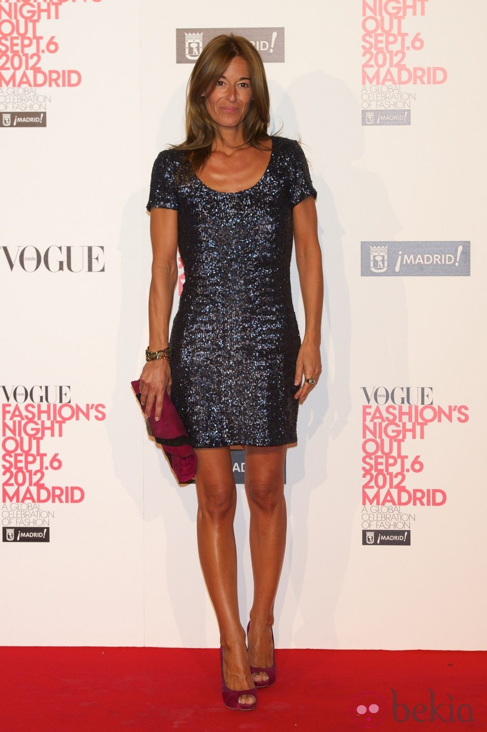 M nica mart n luque en la madrid fashion 39 s night out 2012 for Monica de martin