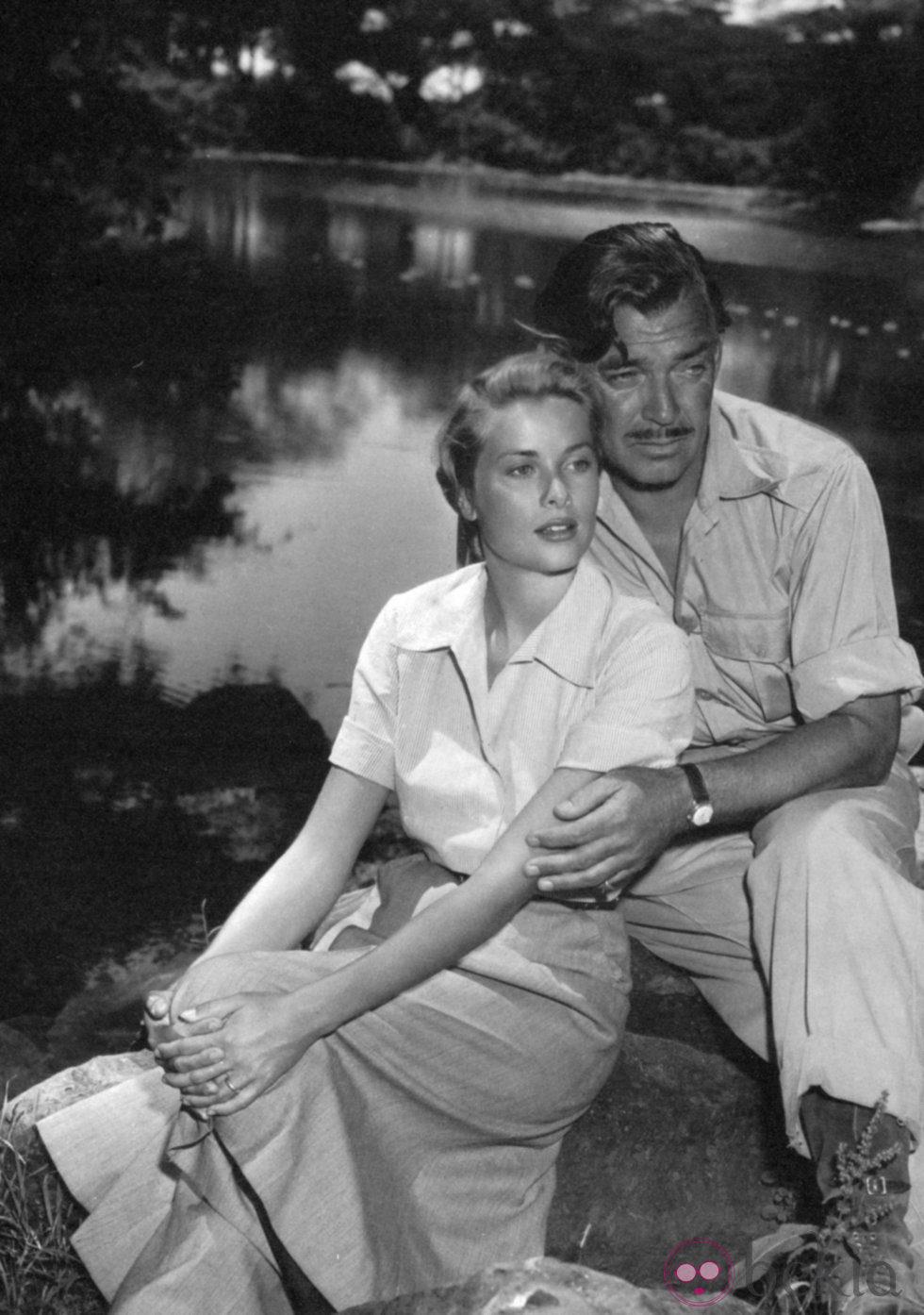 Clark Gable y Grace Kelly protagonizaron 'Mogambo'
