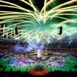 Espectáculo de luz y color en la clausura de los Juegos Paralímpicos de Londres 2012