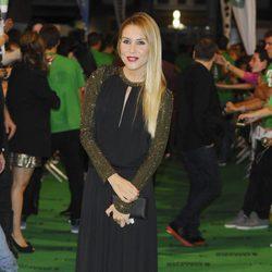 Berta Collado en la ceremonia de clausura del FesTVal de Vitoria 2012