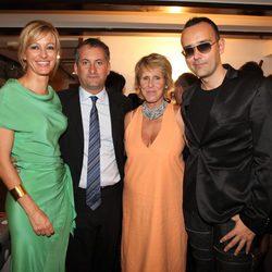 Susanna Griso, Mercedes Milá y Risto Mejide en la fiesta de clausura del FesTVal de Vitoria 2012