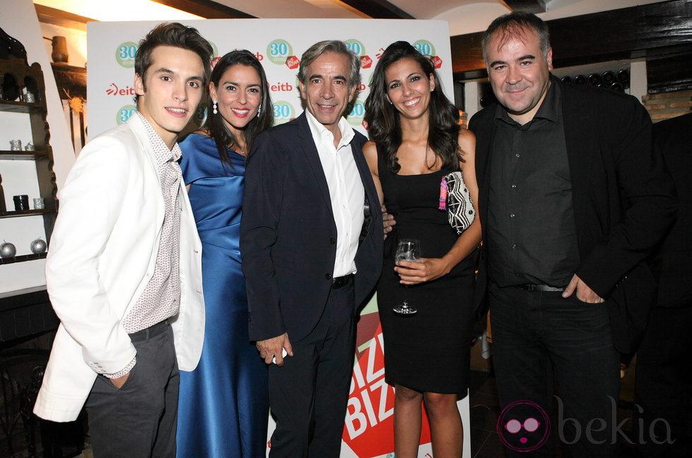 Ricardo Gómez, Irene Meritxell, Imanol Arias, Ana Pastor y Antonio García Ferreras en el FesTVal 2012