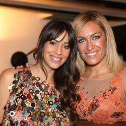 Almudena Cid y Luján Argüelles en la clausura del FesTVal de Vitoria 2012