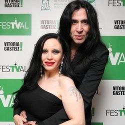 Alaska y Mario en la clausura del FesTVal de Vitoria 2012