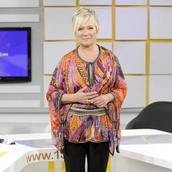 Inés Ballester en la presentación de la nueva temporada de 13tv