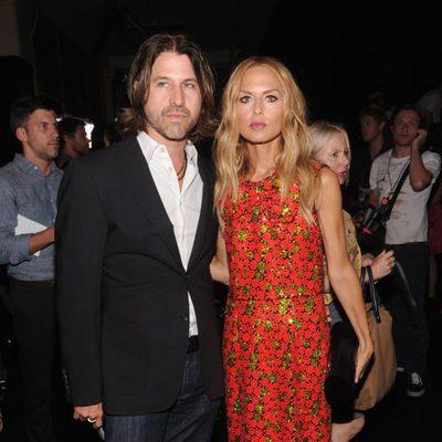 Rachel Zoe y Rodger Berman en el front row de la Semana de la Moda de Nueva York