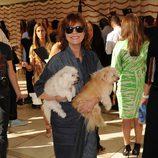 Susan Sarandon en el front row de la Semana de la Moda de Nueva York