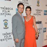 Taran Killam y su mujer Cobie Smulders