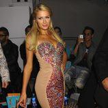 Paris Hilton en el front row de la Semana de la Moda de Nueva York