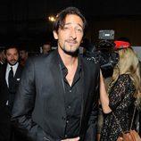 Adrien Brody en el front row de la Semana de la Moda de Nueva York