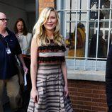 Kirsten Dunst en el front row de la Semana de la Moda de Nueva York